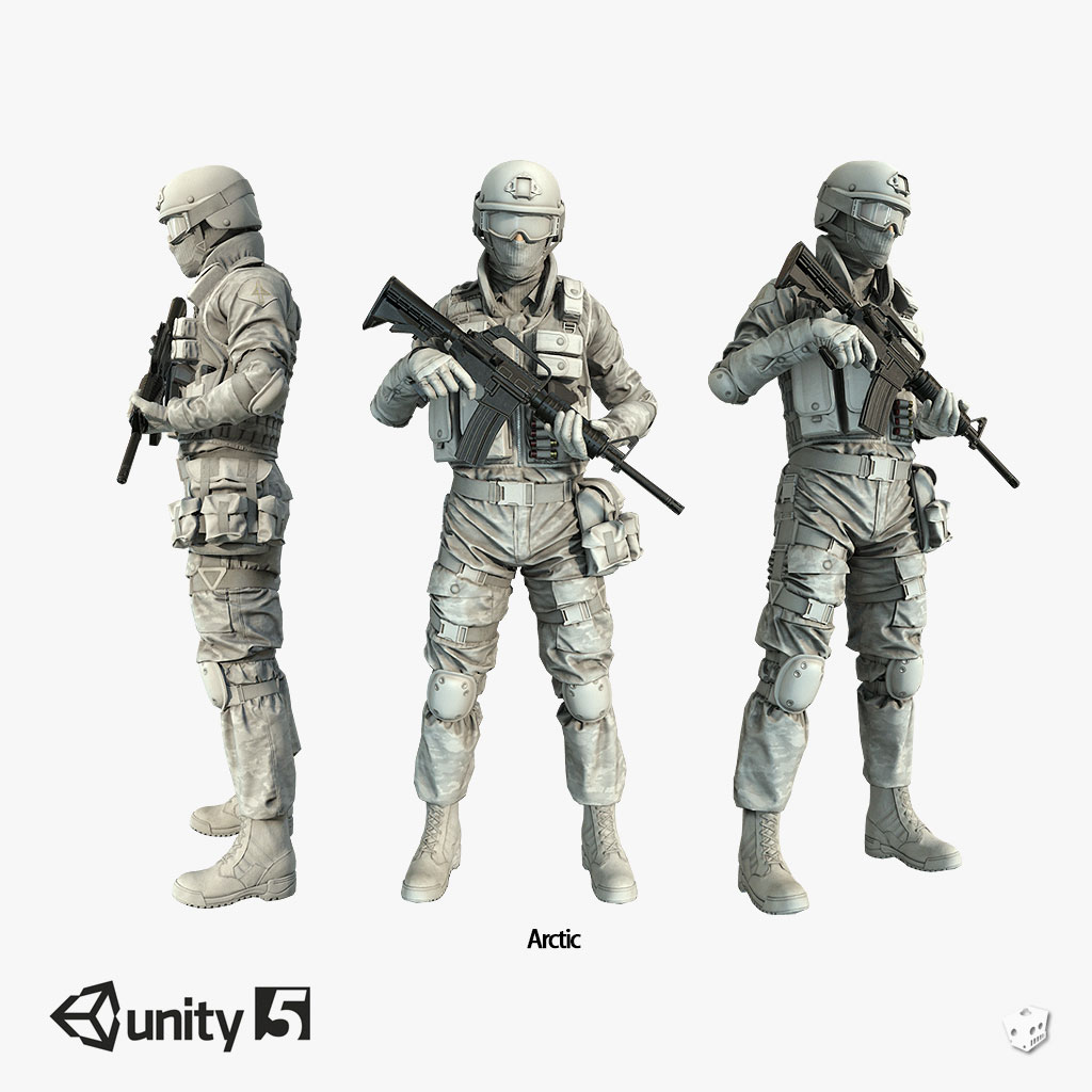Assault Character Pack Remastered Unity 5